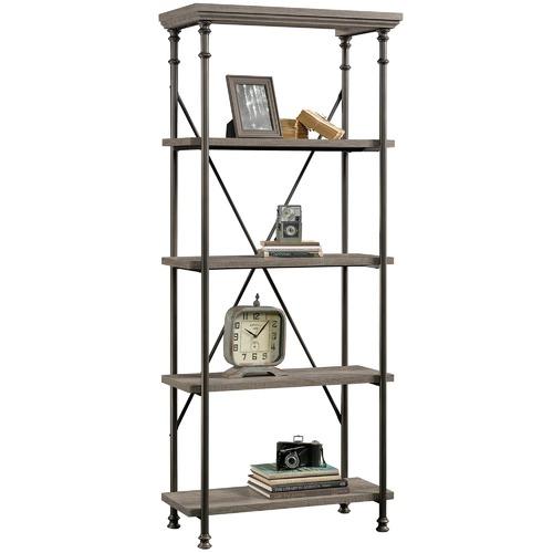 Sauder Canal Street 5 Shelf Bookcase