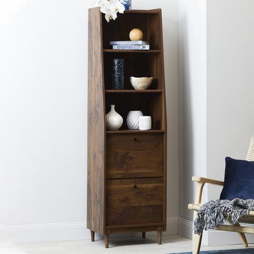 Sauder Harvey Park Narrow Modern Bookcase