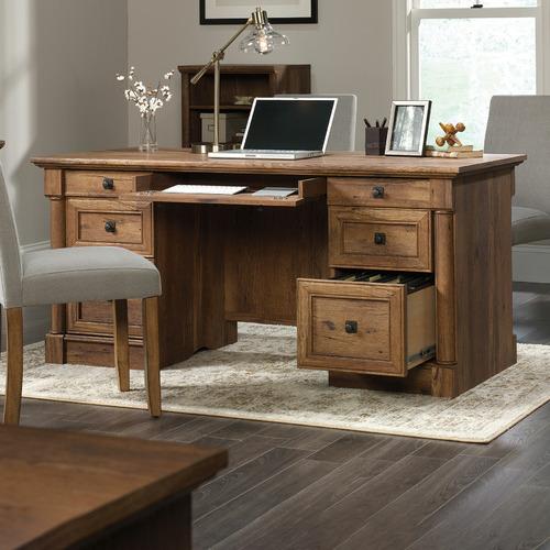 Vintage Oak Palladia Executive Desk