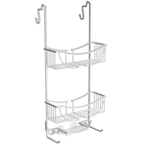 Fountain Bathware 3 Tier Venus Metal Over The Door Shower Caddy