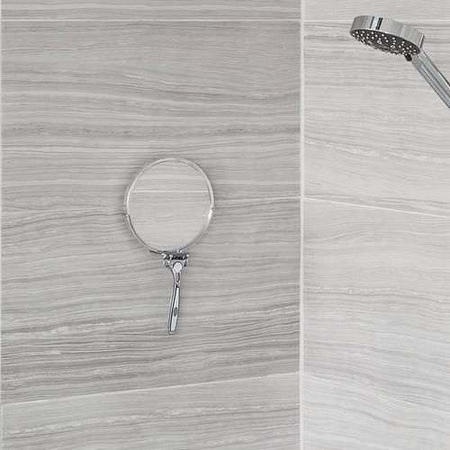 Fountain Bathware Kroma Stick N Lock Shower Mirror