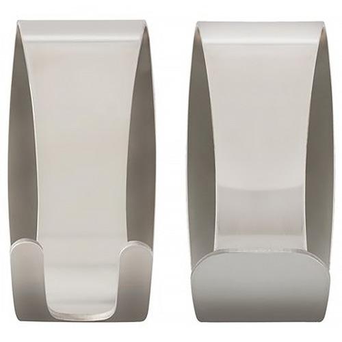 Fountain Bathware 2 Piece Jay Stainless Steel Hook Set
