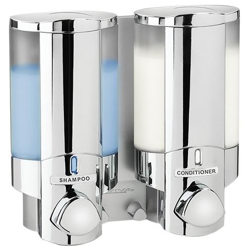 Fountain Bathware Chrome Aviva Double Shower Dispenser