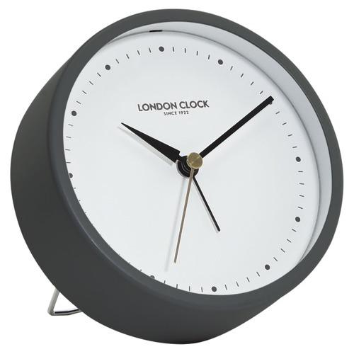 London Clock Company Marked Hoxton Silent Alarm Clock
