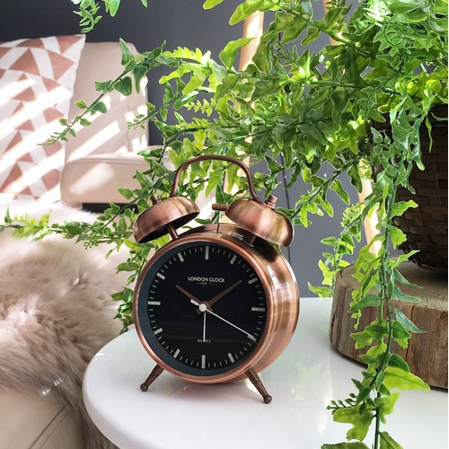 London Clock Company 11.5cm Blaze Alarm Clock