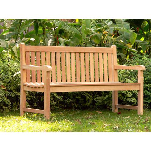 Garden Grown Teak Wood Park Bench