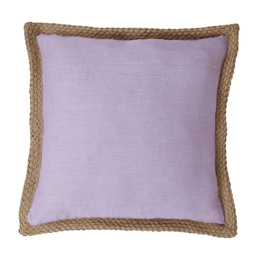 J. Elliot Mornington Lilac Linen Cushion