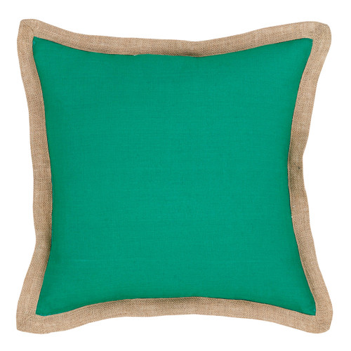 J. Elliot Emerald Hampton Linen Cushion