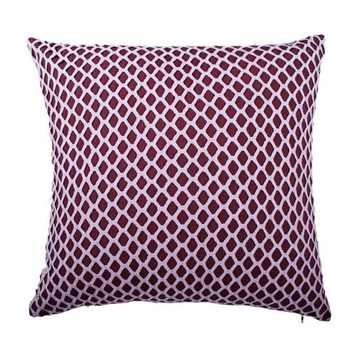 J. Elliot Cleo Plum Cushion