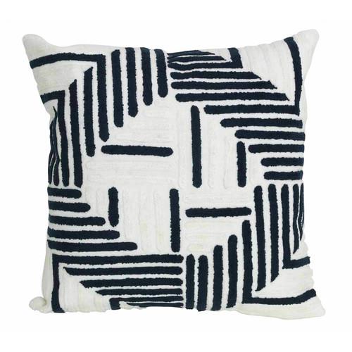 J. Elliot Lachlan Navy Cushion