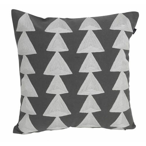 J. Elliot Buller Charcoal Cushion