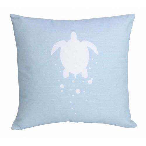 J. Elliot Illusion Blue Franklin Cushion
