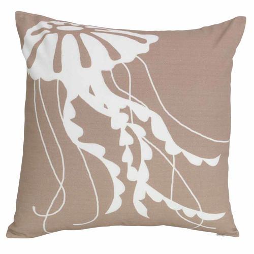 J. Elliot Jelly Warm Taupe Cushion