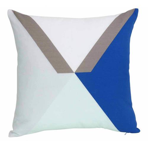 J. Elliot Blue Mix Torquay Cushion