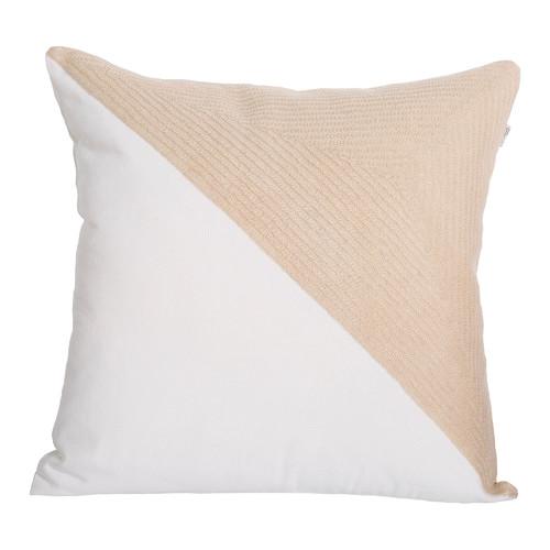 J. Elliot Warm Taupe Portsea Half Cushion