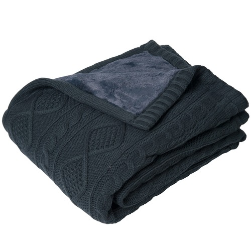 J. Elliot Alberta Reversible Knit Throw