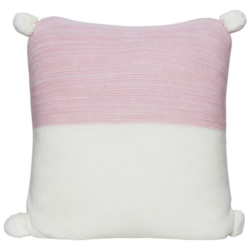Calgary Knitted Pom Pom Cushion