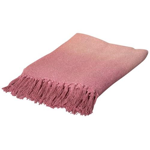 Pink Rise Throw