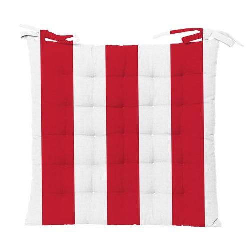 Stripe Rhianne Cotton Chair Pad