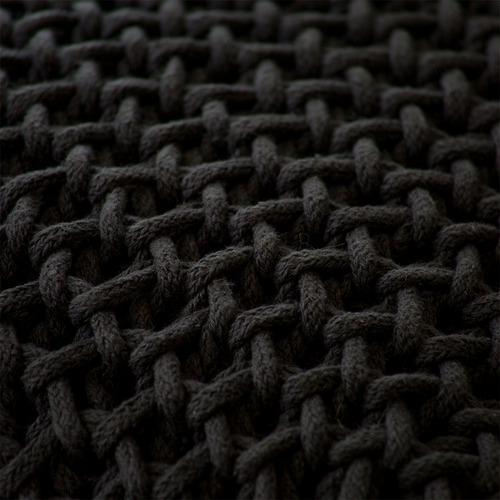 J. Elliot Zara Hand-Knitted Cotton Cushion