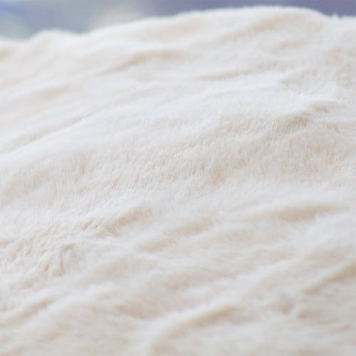 J. Elliot Natural Arlo Super Plush Faux Fur Throw