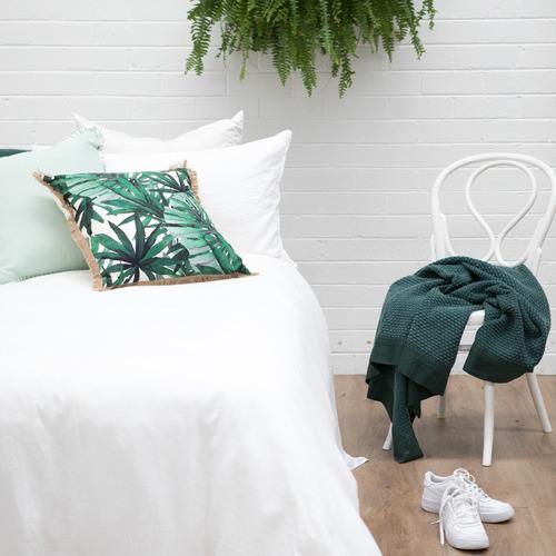 J. Elliot Mint Cala Cotton & Linen Cushion