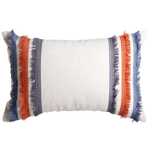 J. Elliot Indigo & Rust Kia Cotton Cushion