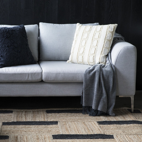 J. Elliot Natural Tandall Cotton & Linen Cushion