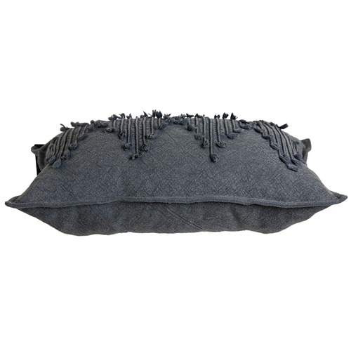 J. Elliot Charcoal Cosmo Cotton Cushion
