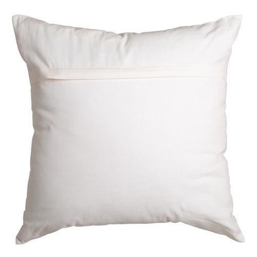 Ivory & Black Floryn Cotton Cushion