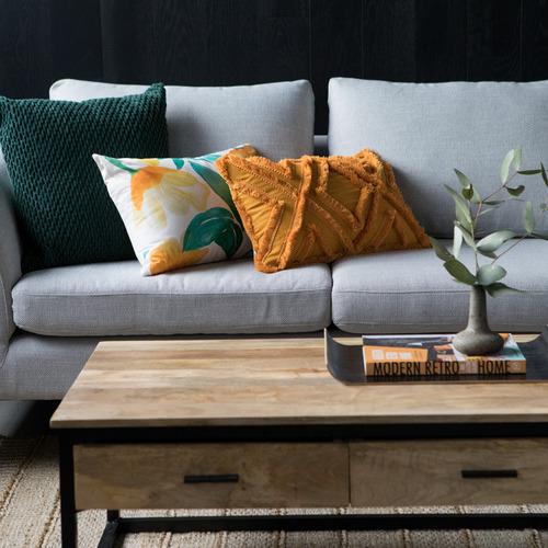 J. Elliot Multi-Coloured Savannah Cotton Cushion