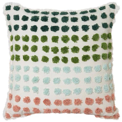 Multi-Colour Dottie Cotton Cushions