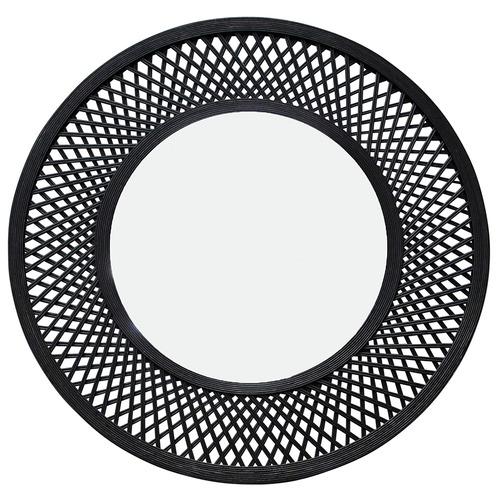 Duke Round Bamboo Mirror