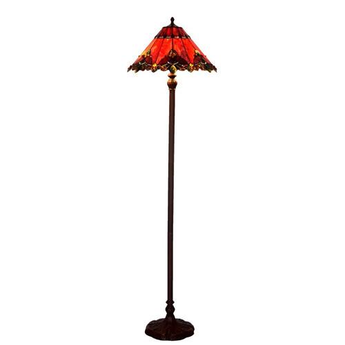 Tiffany Pieces King Floor Lamp