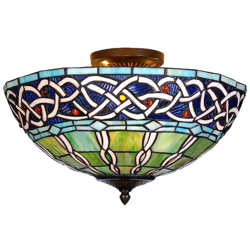 Tiffany Pieces Tiffany Egyptian Close to Ceiling Light