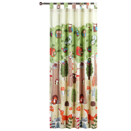 Happy Kids The Big Tree Tab Top Curtain Set
