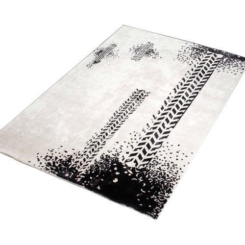 Lotus Rugs Arica Modern Art Printed Luxury Designer Hand Loomed Rug