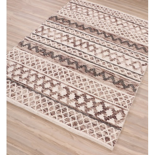 Ground Work Rugs Natural Omen Woven Wool Rug