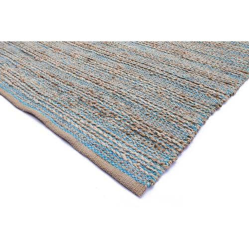 Ground Work Rugs Blue & Grey Charm Handwoven Jute Rug