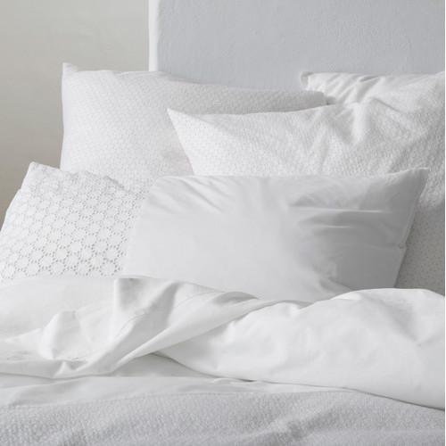 Kas Sian White Quilt Cover Set