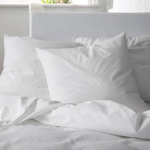 Kas Sian White Euro Pillowcase