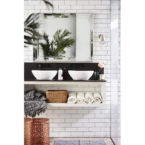 Kas Mason Charcoal Bath Mat