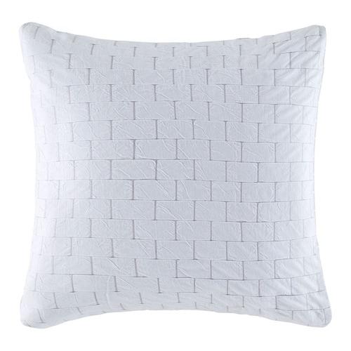White & Grey Fletcher Euro Pillowcase