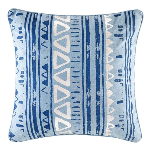Kas Blue Frankie & Ginger Square Cushion