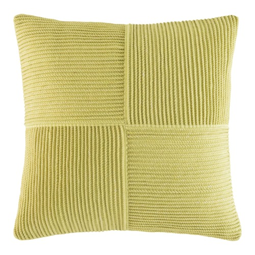 Kas Yellow Harkness Square Cushion