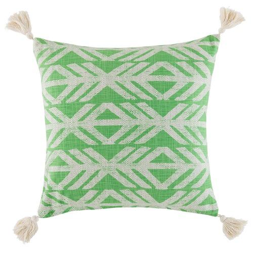Kas Axe Square Cushion