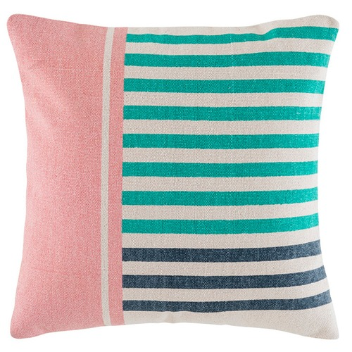 Kas Vacation Colour Blocked Cotton Cushion