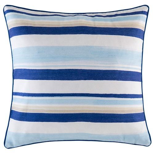 Kas Blue Lilito Stripe Outdoor Cushion
