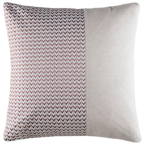 Kas Natural Nash Cotton & Linen Cushion