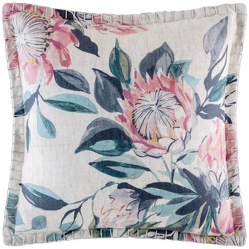Kas Floral Protea Cushion